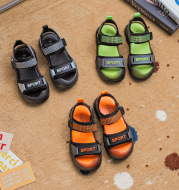 Boys And Girls Half Toe Cap Sports Sandals