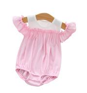 Baby Jumpsuit Short Sleeve Pure Cotton