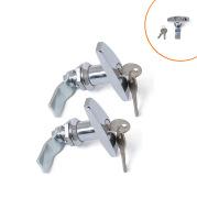 RV Trailer T-Handle Cam Lock Large Handle Lock Tool Box Lock Chassis Cabinet Lock