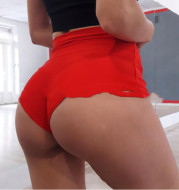European And American High-Waist Slim-Fitting Sports Yoga Hip-Lifting Abdomen Running Shorts Women's Solid Color Hip Elastic Pants