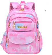 Kamida Primary School Schoolbag Female Sweet And Cute Gradient Backpack 1-3-6 Grade Large Capacity