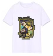Sportswear Short-sleeved T-shirt Fashion Medium And Large Children's Wear