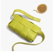 Leather Belt bag Fashion All-match Chest Bag Shoulder Messenger Small Square Bag
