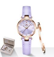 Quartz Watch Set Birthday Gift Female Watch