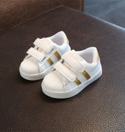 Men's And Women's Baby Shell-toe Sneakers, Children's Casual White Shoes, Children's Soft Sole Shoes