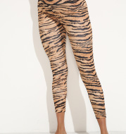 Back Baist Cross Sexy Tiger Print FitnessYoga Leggings