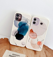 Applicable Apple Watercolor Anti-drop Protective Shell