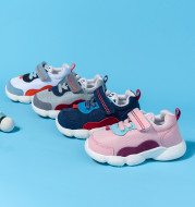 Sports Shoes Baby Toddler Shoes Soft-soled Non-slip Men And Women Korean Baby Functional Shoes