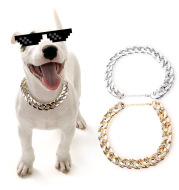 French Fighting Small and Medium Dog Necklace Pet Collar