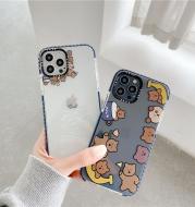 Transparent Bear Mobile Phone Case Men And Women