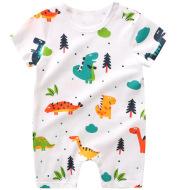 Full-print Baby Short-sleeved Romper Romper