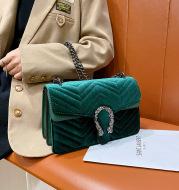 New Retro All-Match Chain Bag Single Shoulder Messenger Small Square Bag