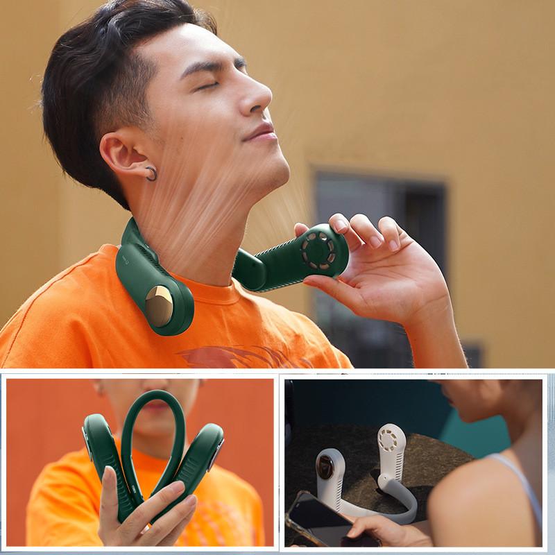 Mini Ventilador Personal Para El Cuello 🎧🤩🔥 - Dileblue