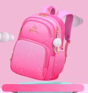 Gradient Color Primary School Student Schoolbag Female