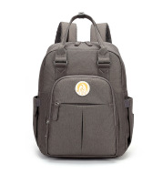 2021 New Double Shoulders Mommy Bag Baby Parents Multifunctional Large-Capacity Travel Backpack Color Matching Mother And Baby Bag