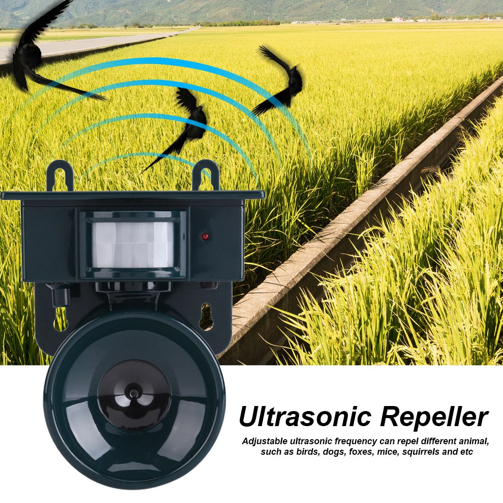 Solar Powered Animal Repeller