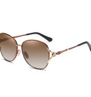 Polarized Ladies Sunglasses Two-Tone Gradient Film
