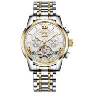 Automatic Mechanical Watch Tourbillon Multi-function Calendar Week Luminous Waterproof Men's Watch