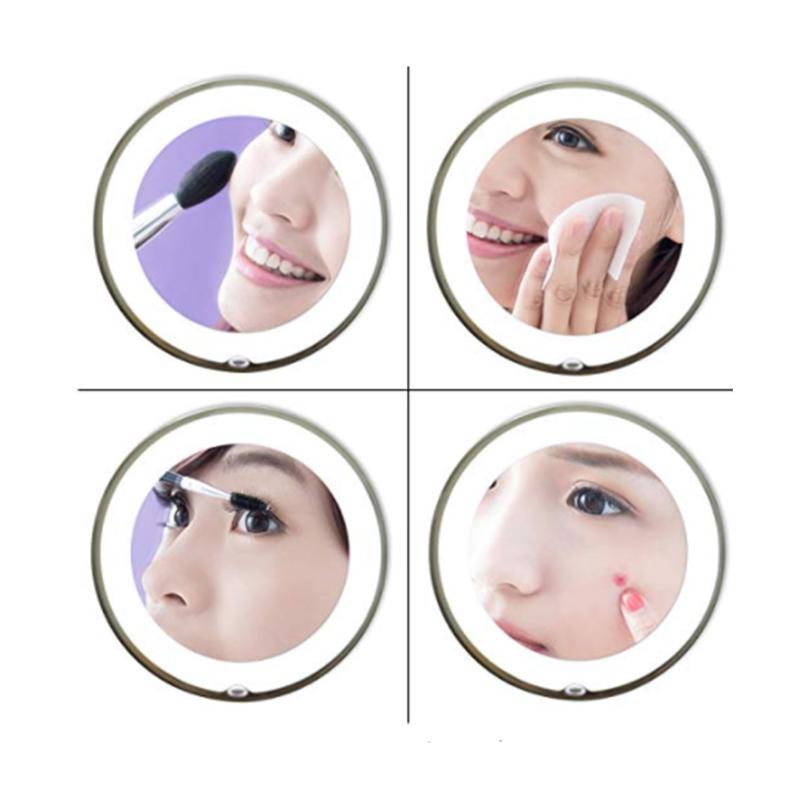 Flexible Gooseneck Makeup Mirror 9