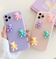 Fashion Cute Cartoon Bear Tpu Phone Case