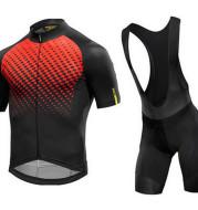 Short-Sleeved Bib Cycling Suit
