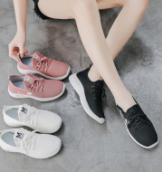 Walking Shoes Low-Cut Shallow Mouth Casual Shoes