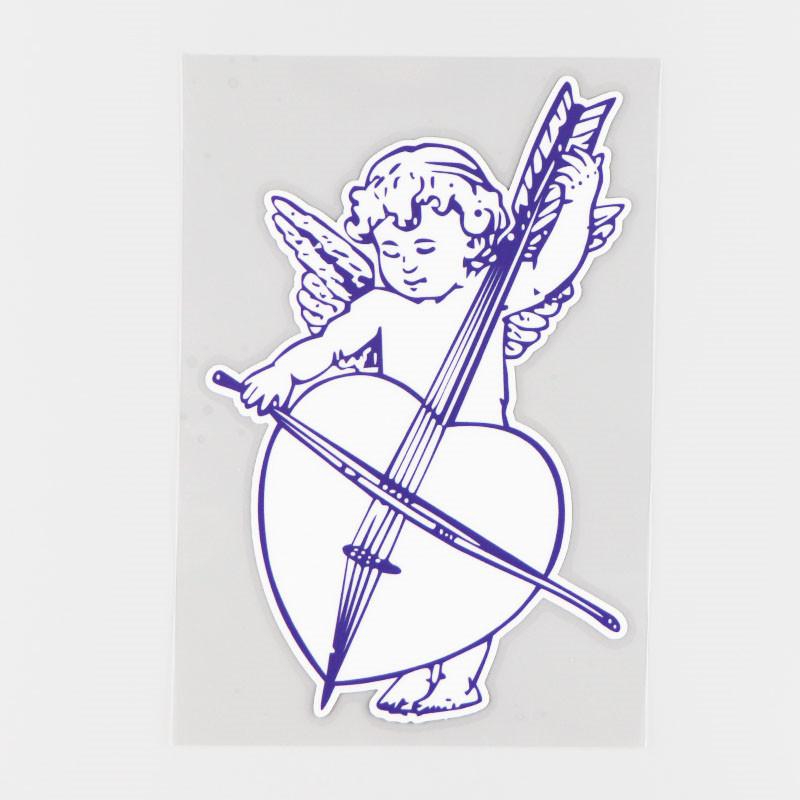 Sticker Ange Musicien