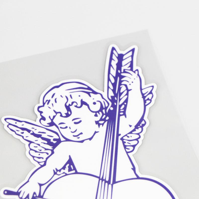 Sticker Ange Violet