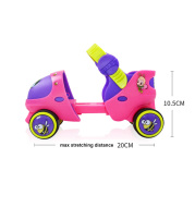 Children's Cartoon Double Roller Skates