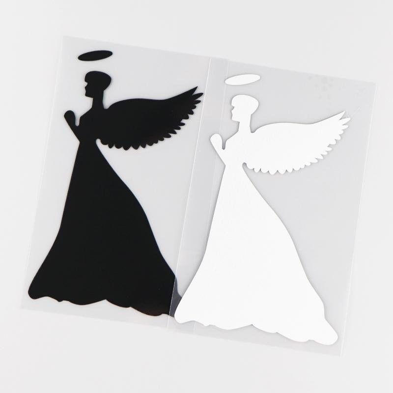 Stickers Ange Noir et Blanc