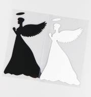 Praying Angel Body Sticker Car Scratch Cover Cover Sticker Car Glass Sticker KH14041