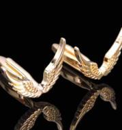 Wings Of Freedom Golden Wings Cufflinks