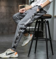 Pants Men's Overalls Autumn Thin Korean Fashion