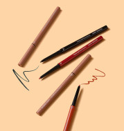 Dream Diary, Eye Liner, Pencil Eyeliner, Cream, Very Thin Brown Waterproof.