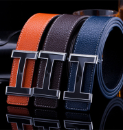 Men's Korean Style Trendy Fashion Jersey Buckle Belt