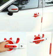 Car Lucky Cat Door Bowl Handle Handle Sticker