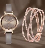 Fashion Ladies Watch Exquisite Drawer Box Crystal Bracelet Watch