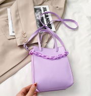 Large Capacity Chain Crossbody Picture Tote Bag