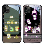 Color Changing Fashion Trend Of Luminous Mobile Phone Case