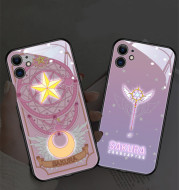 Sakura Magic Array Phone Case Glowing Animation Creative