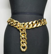 Simple And Versatile Belt Chain Sweater Decoration