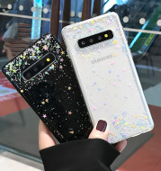 Samsung s10 Mobile Phone Case s20 Transparent Soft 12note10p Protective Cover