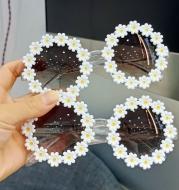 Little Daisy Sunglasses Female Cute Flower