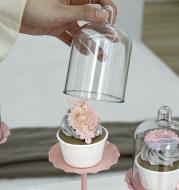 Wedding Dessert Table Pink Cake Stand