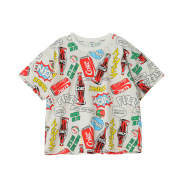 Children's Clothing Boys T-Shirt Summer New Style, Big Kids Korean Version Of Short-Sleeved Boy Western Style Hedging Tops, A Trendy One Drop Delivery