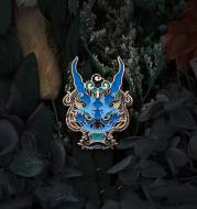 Suit Brooch Enamel Metal Badge Gift Jewelry