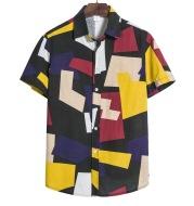 Men s Geometric Print Shirt
