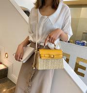 Fashion Box Rattan Women Handbags Wicker