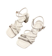 High School And Thick Heels With Spring And Summer Fashion Sandals