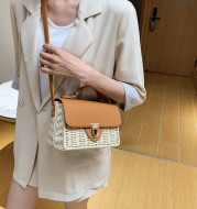Korean Style Portable Square Beach Female Bag